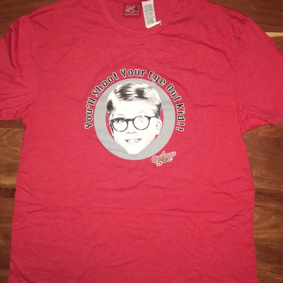 bnwt a christmas story t shirt size l